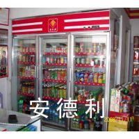厂家直销节能环保豪华型饮料冷藏柜 超市便利店冰箱