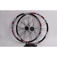 TW27.5寸超润32孔圆辐条培林轴承山地自行车轮组套件批发厂家