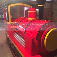 新型无轨小火车是一款迷你型电动无轨小火车 操作简便 外观精美好看 经久耐用 郑州艺童游乐设备