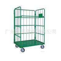 供应折叠式标准物流台车,载物台车,超市、车间、仓库的必备器具