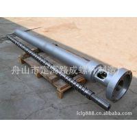 供应ABS,PP,PE,PVC,PET等高质量挤出机38CrMoAlA氮化机筒螺杆