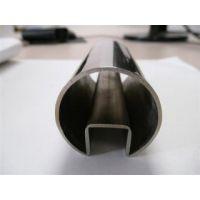 304不锈钢圆单槽管