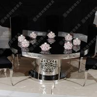 海德利厂家直销塑料桌椅价格不锈钢火锅桌专业定做餐桌椅组合家用餐桌餐椅组合批发代理