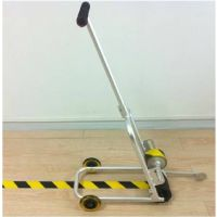 博尔杰胶带划线车 地面胶带划线器 区域划分标示工具推车工程用车