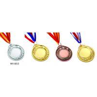 西安金银铜奖牌定制 陕西纯银纪念章 金属徽章开模定制物美价廉