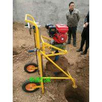 专利产品种树地钻机 植树挖坑机视频