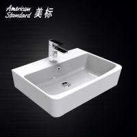 美标卫浴洁具CP-F520新阿卡西亚方形洗手盆碗盆台上盆洗脸面盆 600mm 单孔
