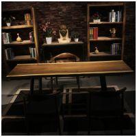 家有名木供应原生态艺术大板南美花梨木餐桌画案会议桌办公桌书桌吧台茶桌厂家直销