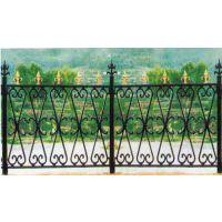定制社区铁艺护栏 草坪护栏网 热镀锌喷塑围栏 喷塑组装草坪护栏