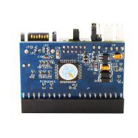 帝特DT-8008 台式主板并口IDE转串口SATA 双向开关硬盘接口转接卡