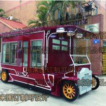 宝鸡公园售货亭,上海游乐园卡通售货亭,张掖户外移动贩卖花车