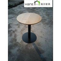 上海咖啡厅圆桌尺寸 咖啡厅实木圆桌报价