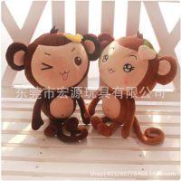 玩具厂家定做 人偶娃娃 情侣毛绒娃娃 工厂定制可爱女孩娃娃