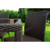 LZ-SRFZ汉朵弗上海户外咖啡厅休闲桌椅厂家,室外椅子,户外仿藤桌椅价格(金属钢结构)
