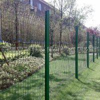 公园护栏网、方管立柱护栏网 新疆丝网厂家