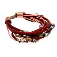 MAXFINE 欧美波西米亚风 多重皮革编织绳 厂家直销 现货供应