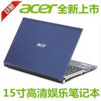15寸宏碁超薄笔记本电脑 15.6寸超级本 双核处理器 带光驱 大屏