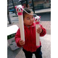 成都熊猫公仔李小龙同款儿童礼物熊猫双节棍卡通毛绒玩具代理加盟