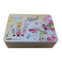 供应香港BB霜铁盒 护肤套装包装铁盒 男性女性用品包装铁盒