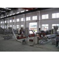 PVC/PE木塑造粒机 工程塑料破碎料造粒机 塑料透明料造粒机 南京造粒机 双螺杆造粒机