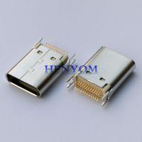 Type-C 夹板母座 夹板0.8 1.0mm 长度L=9.3 10.5mm