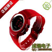 供应潮流时尚 学校里***畅销的产品 大学女生都喜爱的礼物 LED手表批发