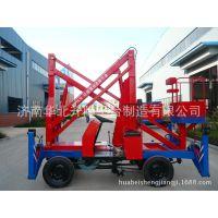 12米自行走折臂式升降机,曲臂式升降平台,高空作业车
