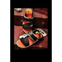欧美出口2015爆款广州外贸工厂直销夏季沙滩时尚男士凉鞋