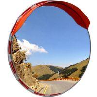 不锈钢反光镜高速公路 耐撞击广角镜 凸面镜 60cm不锈钢转弯镜