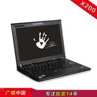 联想笔记本电脑 Thinkpad 12寸双核 X200 二手手提批发零售上网本