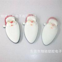 翔驰供应PVC软胶冰箱贴 圣诞老人磁性卡通滴胶冰箱贴 可定制 Refrigerator magn