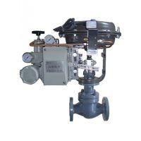 良工牌DN25 PN16型不锈钢气动直通调节阀