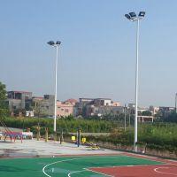 佛山户外篮球场灯杆照明 锥形篮球场8米灯杆厂生产厂家 镀锌寿命20年