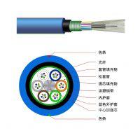 耐斯龙厂家供应16芯多模矿用阻燃铠装光缆MGTSV-16A1a 可定制
