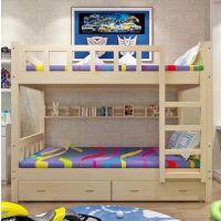 成都公寓床成都实木学校家具学生床