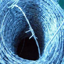 防盗带刺铁线 滚笼带刺铁丝网 防生锈果园刺绳围网