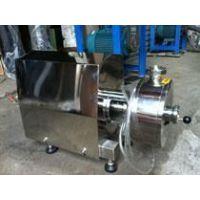 卫生级乳化泵、高剪切乳化泵、均质乳化泵