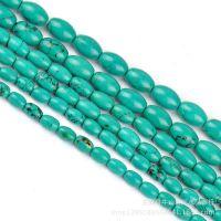 DIY饰品 佛珠 桶珠配件 绿松石米珠 半成品批发 散珠配珠