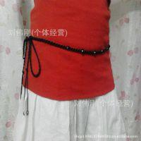 厂家手工编织腰饰/辟邪/防辐射/红绳腰链/本命年腰带/赠品/送父母
