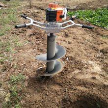 强劲有力的挖坑机 大功率挖坑机