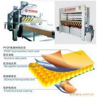 用于高速列车等用途的铝蜂窝板生产机械国森机械
