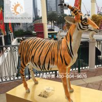 玻璃钢雕塑小羊卡通树脂租赁模型道具展览定做工艺品