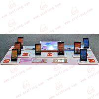 供应2016亚克力手机托盘,手机陈列架,有机玻璃展示架