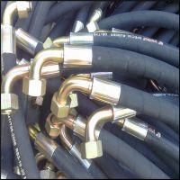 长期供应优质液压胶管 液压油管 夹布胶管 钢丝编织高压橡胶管