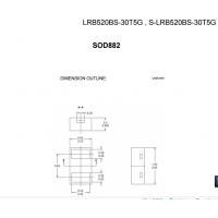 LRC肖特基LRB520BS-30T5G