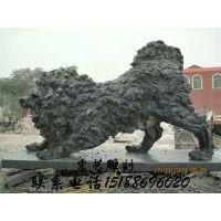 石雕欧式狮子雕塑仿真青石欧式爬狮子招财镇宅酒店门口摆件一对