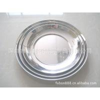 供应家居用品 圆盘 不锈钢菜盘
