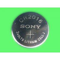供应Sony索尼CR2016纽扣电池