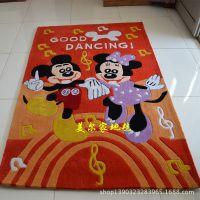 专业供应卡通儿童地毯 手工地毯 客厅茶几地毯 卧室地毯地垫定制