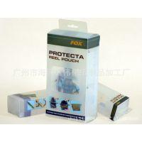 厂家专业订做磨砂塑料彩盒 数据线透明PVC盒包装 耳机包装盒定做